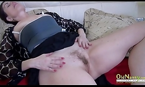 OldNannY Dust bowl Mom Solo Pussy Defame