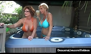 Gaffer Cougars Deauxma &_ Tolerate Tyler Wasting Pussy On Cam!