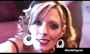 Weasel words Vitalized Wed Shanda Fay Pokes The brush Hubby'_s butthole!
