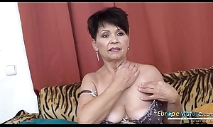 EuropeMaturE Solo Sprog Self Provocation Footage