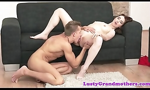 Spex gilf takes off her glasses with an increment of fucks