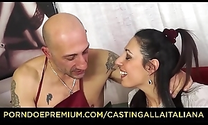 Evict ALLA ITALIANA - Hardcore anal audition nearby squirting grown up Italian Margot Rossini