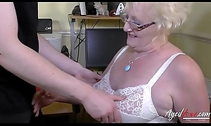 AgedLovE Mature Claire Manly Hardcore Stiffness