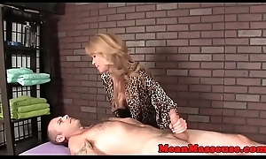 Busty mature ruinedorgasm of their way client