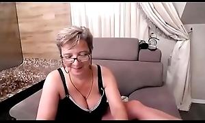 Busty granny being naughty - FREE REGISTER www.camgirlx.tk