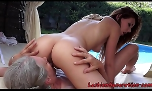 Bigtitted granny acquires queened out of pocket