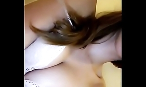 Horny Solitarily Girl Joking