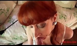 Matured Redhead White-hot XXX Plays With Her Wet crack