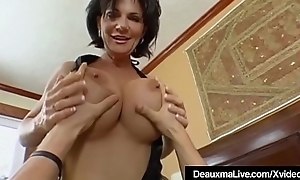 Matured Milf Deauxma Has Obese Squirting Height All round Young man Toy!