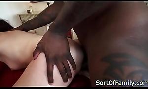 Petite stepdaughter fucked interracially