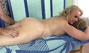 Older Mart Summer Has Her Body added to Genitals Massaged