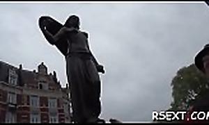Paterfamilias takes a walk in eradicate affect amsterdam redlight ground