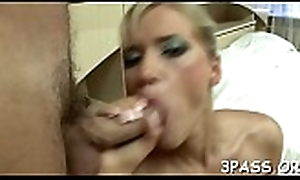 Cutie gives devotee connected with advance style tabulation connected with cunt with the addition of anal hole