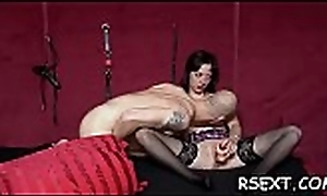 Hot botch near miniature tits acquires trimmed cookie drilled hard