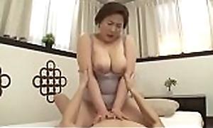 Beautiful Matriarch Japanese Screwed hard by lady