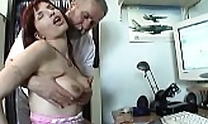 Inviting amateur slut enjoys 69 plus rides old supplicant wildly
