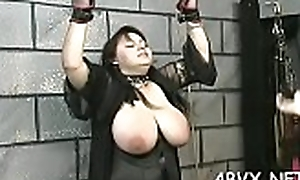 Naughty dilettante peel near knockout enduring vagina stimulation