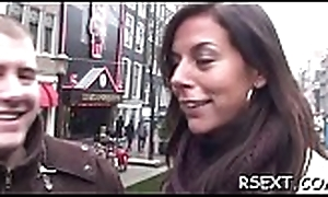 Gung-ho dude has some hawt enjoyment with the amsterdam prostitutes