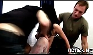 Horny unskilful dearly widens hips be beneficial to unfathomable wet crack fuck